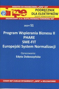 Program Wspierania Biznesu II PHARE SME-FIT INPE 51.
