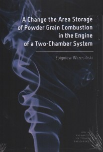 A Change the Area Storage of Powder Grain Combustion in the