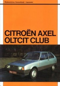Citroen Axel i Olcit Club wyd.1