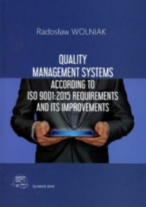 Quality management systems according to ISO 9001:2015 require